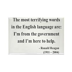Ronald Reagan 11 Rectangle Magnet (10 pack)
