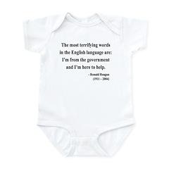 Ronald Reagan 11 Infant Bodysuit