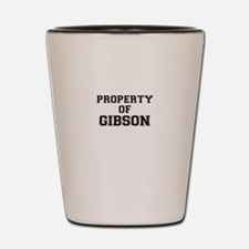 Property of GIBSON Shot Glass
