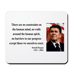 Ronald Reagan 13 Mousepad