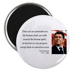 Ronald Reagan 13 Magnet