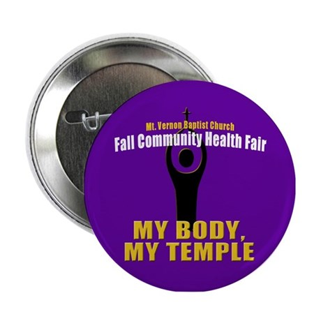 """Body/Temple 2.25"""" Button (100 pack)"""