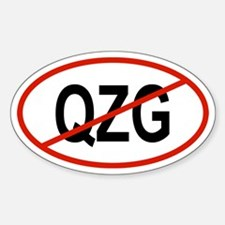 QZG Oval Decal
