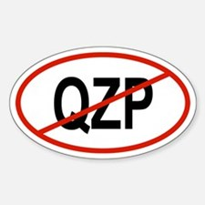 QZP Oval Decal