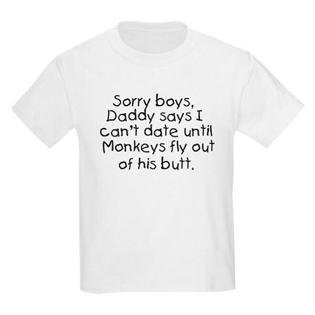 No Dating Kids Light T-Shirt