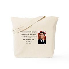 Ronald Reagan 15 Tote Bag