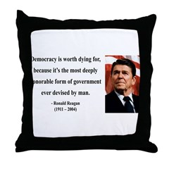 Ronald Reagan 15 Throw Pillow