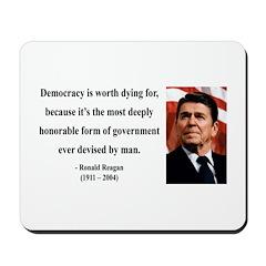 Ronald Reagan 15 Mousepad