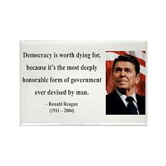 Ronald Reagan 15 Rectangle Magnet (100 pack)