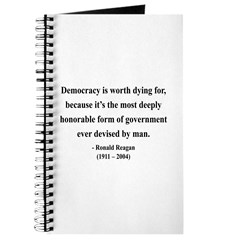 Ronald Reagan 15 Journal