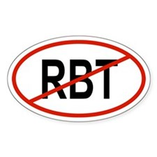 RBT Oval Decal