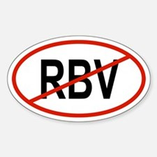 RBV Oval Decal