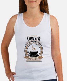Lawyer Fueled By Coffee Tank Top
