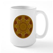 Beige Crop Circle Mug