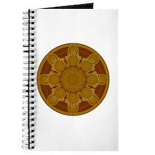 Beige Crop Circle Journal