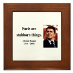 Ronald Reagan 16 Framed Tile