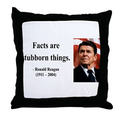 Ronald Reagan 16 Throw Pillow