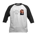 Ronald Reagan 16 Kids Baseball Jersey