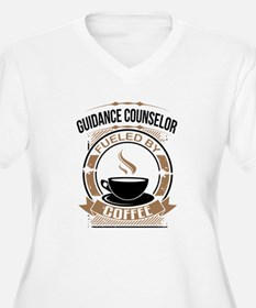 Guidance Counselor Fueled By Coffee Plus Size T-Sh