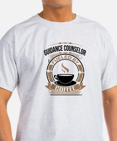 Guidance Counselor Fueled By Coffee T-Shirt