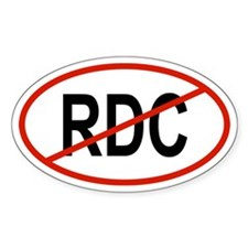 RDC Oval Decal