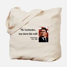 Ronald Reagan 17 Tote Bag