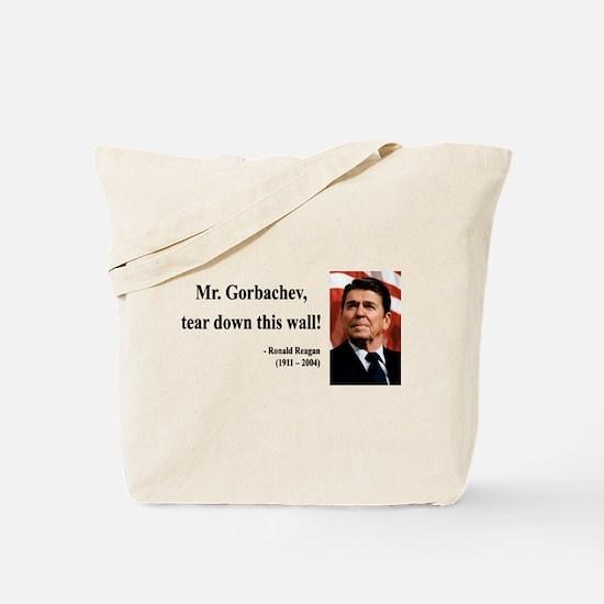 Ronald Reagan 17 Tote Bag