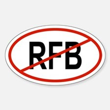 RFB Oval Decal