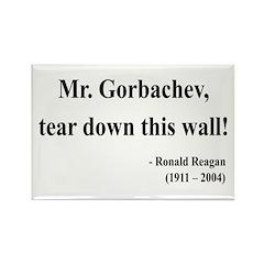 Ronald Reagan 17 Rectangle Magnet