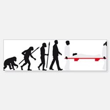 Evolution paramedic Bumper Bumper Bumper Sticker
