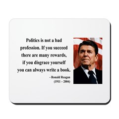 Ronald Reagan 18 Mousepad