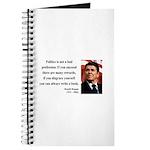 Ronald Reagan 18 Journal