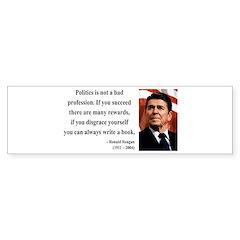 Ronald Reagan 18 Bumper Bumper Sticker