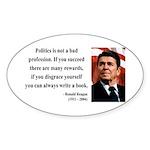 Ronald Reagan 18 Oval Sticker