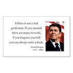 Ronald Reagan 18 Rectangle Sticker