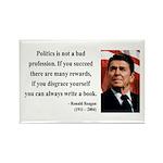Ronald Reagan 18 Rectangle Magnet