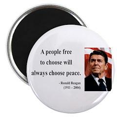 "Ronald Reagan 19 2.25"" Magnet (10 pack)"