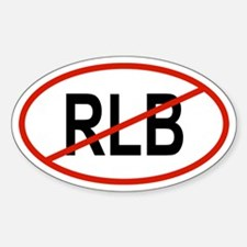 RLB Oval Decal