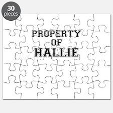 Property of HALLIE Puzzle