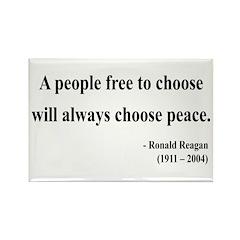 Ronald Reagan 19 Rectangle Magnet (10 pack)