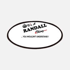 RANDALL thing, you wouldn't understand Patch