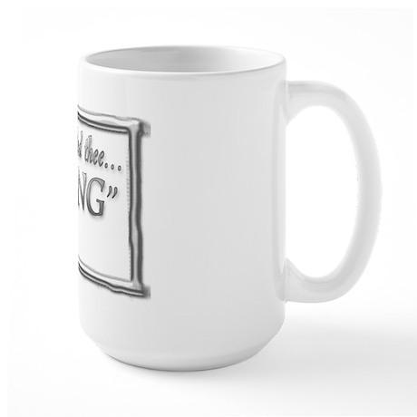 JOSHUA 1:9 BE STRONG Large Mug