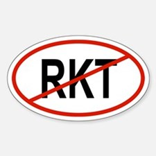 RKT Oval Decal