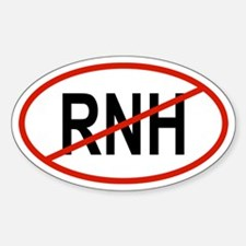 RNH Oval Decal