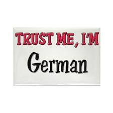 Trusty Me I'm German Rectangle Magnet