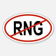 RNG Oval Decal