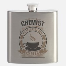 Chemist Fueled By Coffee Flask