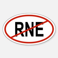 RNE Oval Decal