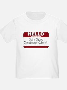 Jingleheimer Schmidt T
