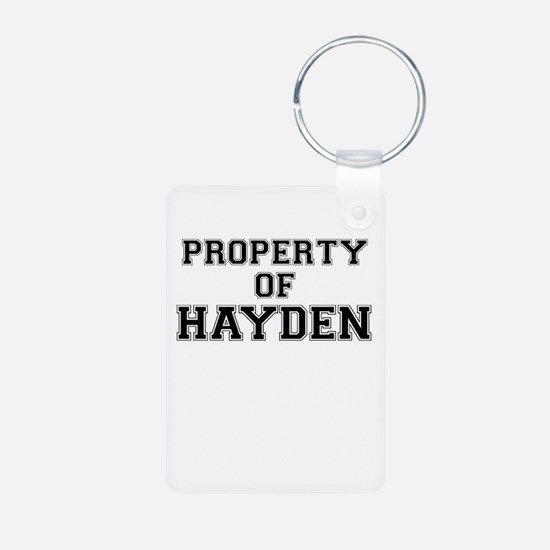 Property of HAYDEN Keychains